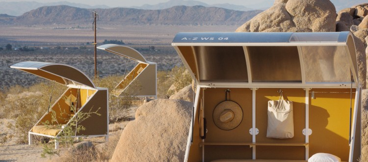 Manufactured Portable Camping Pods : Leather sectionals for sale mobile architecture archives